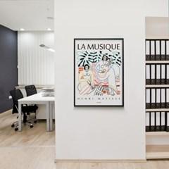 유니크 인테리어 디자인 포스터 M 뮤직(La Musique) 앙리 마티스