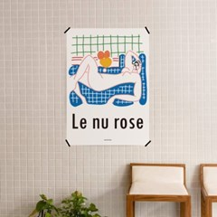 유니크 인테리어 디자인 포스터 M 분홍의 누드 앙리 마티스