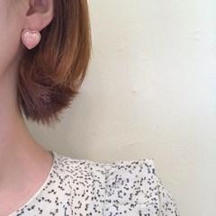 [하트 귀걸이] 트윙클하트 이어링