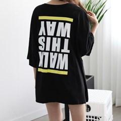[하늘바라기]웨이 루즈핏 티셔츠