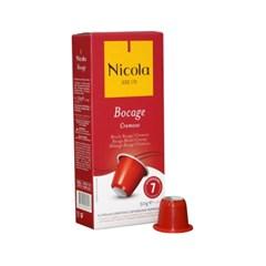 네스프레소 호환캡슐 니콜라카페 캡슐커피 (10캡슐)