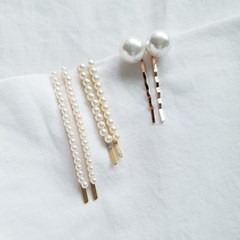 [SET] Pearl Bobby Pins 2qty