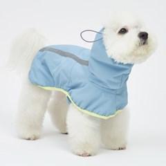 Blue Lemon Rain Coat
