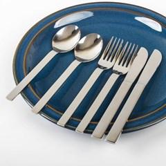 Linnen Spoon/Fork/Knife (양식기 스푼/포크/나이프) 2세트