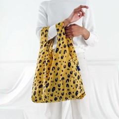 [바쿠백] 휴대용 장바구니 접이식 시장가방 Leopard_(1721899)