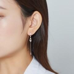 핑크 플라이 드롭 귀걸이