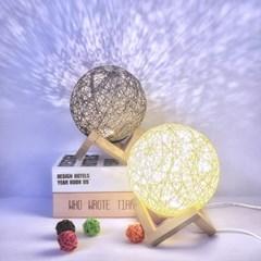 라탄전등갓 LED 특이한무드등 조명 아기방꾸미기 센스있는집들이선물