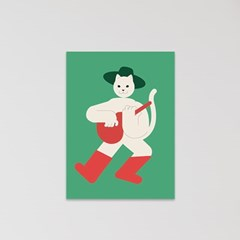 고양이 엽서 세트(12장)