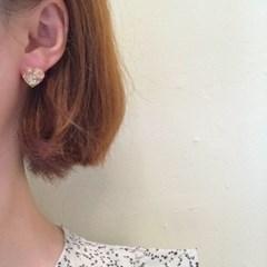 [하트 귀걸이] 비비 이어링