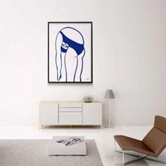 유니크 인테리어 디자인 포스터 M 수영3