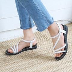 kami et muse Glittering strap mini wedge sandals_KM19s338