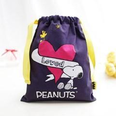 [Peanuts Bag&Acc]스누피하트 파우치(snoopyheart pouch_(1730721)