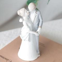 세라믹 춤추는 연인(웨딩) 장식