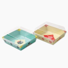 샌드위치 야미프렌즈 포장 케이스 120*110*35(h)mm (6세_(1373330)