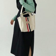 STRIPE CANVAS. BAG