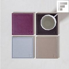 [프리폼] 코스터4P 세트 7종 색상선택