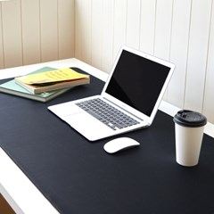 풀사이즈 블랙 마우스패드 / 블랙 데스크매트(RM 232001)