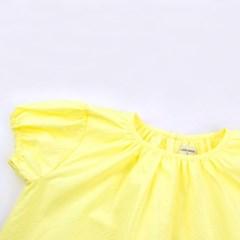 [리틀비티] 언발란스 프릴 드레스 (레몬 옐로우)_(1050352)