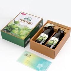 홍쌍리 유기농매실 매실청 선물세트 1000ml x2병