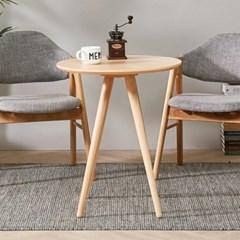 브라우니 2-4인 원형 식탁 티테이블 단품