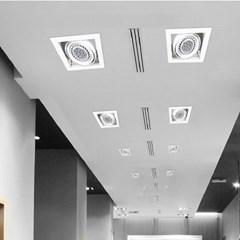 사각 멀티 파 PAR 30 LED 매입등 1구2구3구