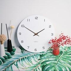 [타임데코] 어떤벽에도 잘 어울리는 로즈골드가 포인트인 벽시계