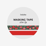 Masking tape slim 2p - 14 Flower