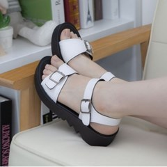 kami et muse Belt strap platform tall up sandals_KM19s345