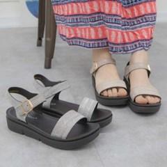 kami et muse Glittering strap platform sandals_KM19s342