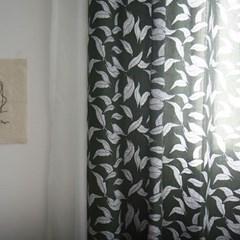 나무의잎 린넨커튼