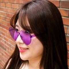 갓샵 노프레임! 하트 틴트 선글라스 5color! 핵인싸템 하트안경
