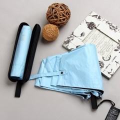 [더로라]일제 단색우산6칼라-블랙 라운딩 케이스 우산 E901