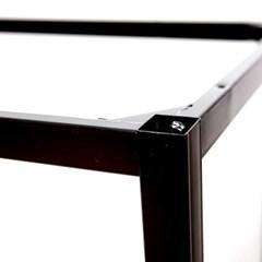 [가구느낌] 1000x600용-40각프레임 철제 테이블 다리_(973913)