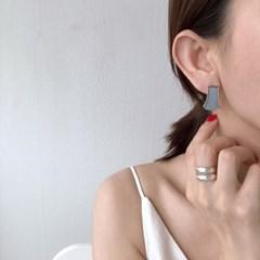 부채 자개 귀걸이 fan shell earring