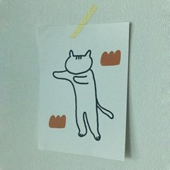 [엽서]Stretch Cat