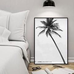 야자수액자 식물 보타니컬 여름 벽꾸미기 그림