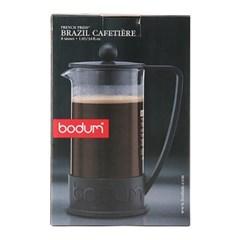 보덤 브라질 커피메이커 Tri 1L 블랙 프렌치프레스_(1187316)