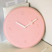 [텐바이텐 단독] 페니체 핑크 무소음 벽시계