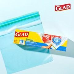 [GLAD] 글래드 지퍼백 냉동형_중형/대형