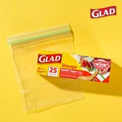 [GLAD] 글래드 지퍼백 냉장형_중형/대형