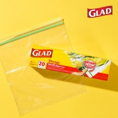 [GLAD] 글래드 지퍼백 냉장형_대형(20매)