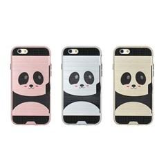 아이폰7 Obli-Panda 카드 범퍼 케이스_(2274914)