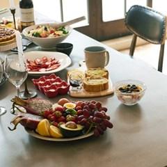 [채우리] 픽스 콘크리트 1400 4인 식탁 테이블