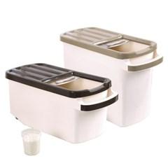 인블룸 이동식 쌀통 잡곡통 서랍형 10L 20L_(1993702)