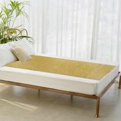 [한일카페트] 블랙라벨 마작 대나무 침대자리 90x190