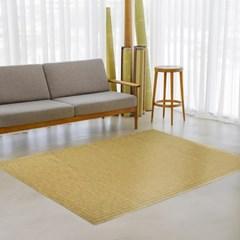 [한일카페트] 블랙라벨 마작 대나무 침대자리 150X190