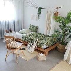 정글숲 린넨여름이불 [세트]