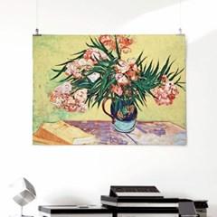 패브릭 포스터 명화 꽃 그림 인테리어 액자 반 고흐 37
