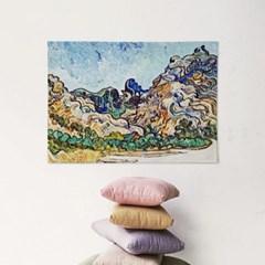 패브릭 포스터 풍경 그림 가리개 천 액자 반 고흐 34