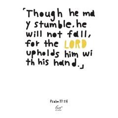 Psalms 37:24 (시편 37편 24절)_white